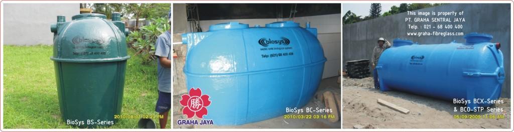Septic Tank BioSys Tipe BS-Series, Tipe BC-Series, Tipe BCX-Series