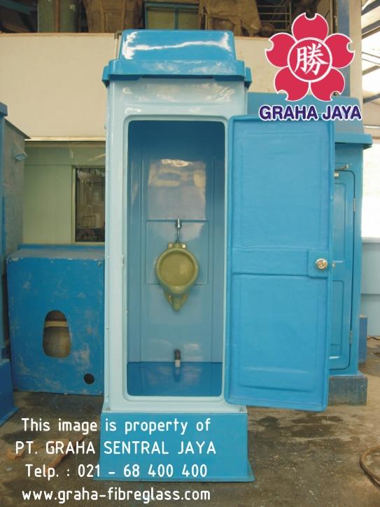 Toilet Portabel Tipe B - tampak dalam
