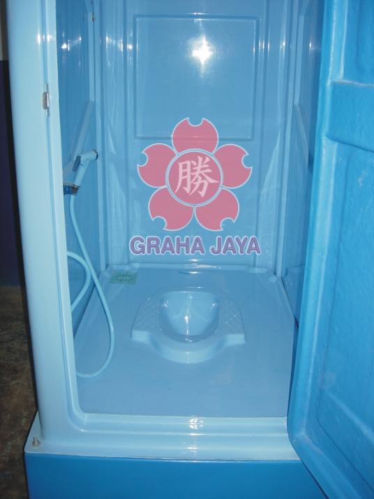 Toilet Portable Tipe B - tampak dalam