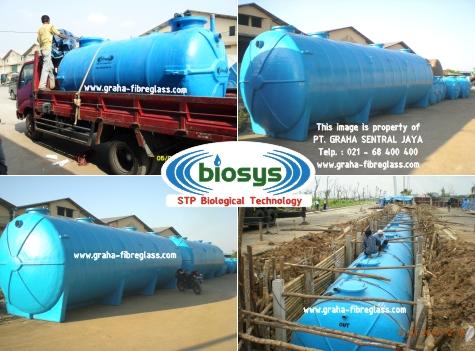 Water treatment dengan STP BioSys BCO-Series
