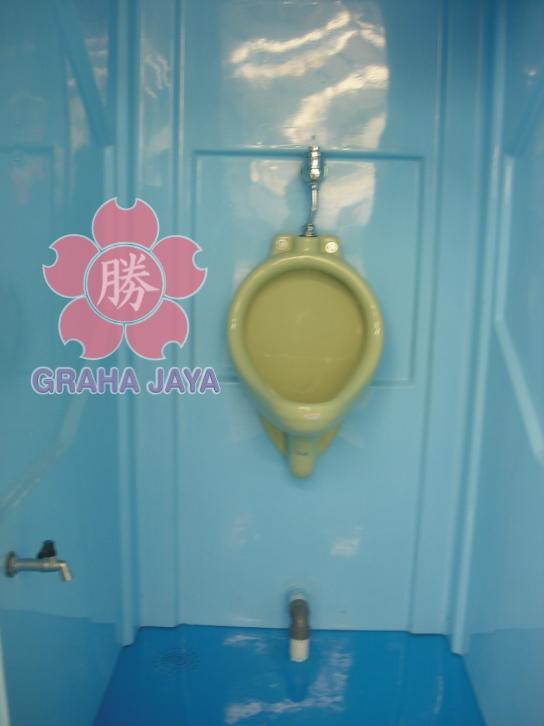 Toilet Portable Tipe C - menggunakan urinoir